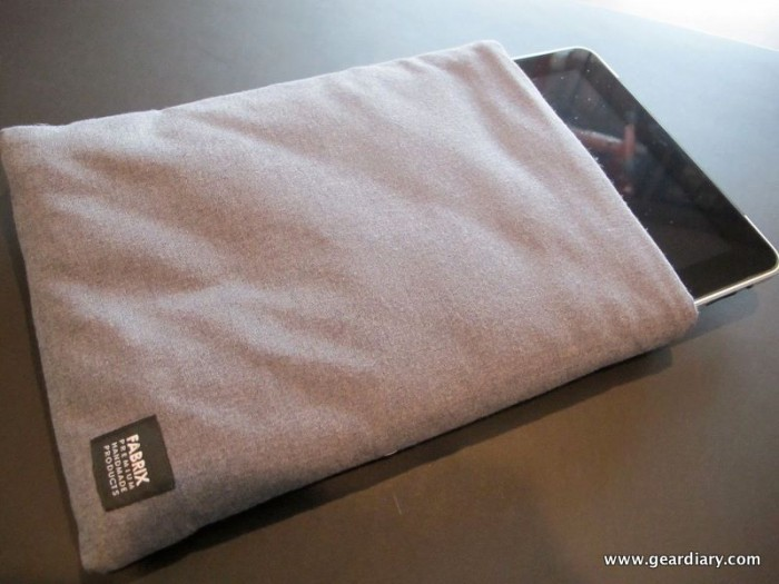Fabrix Cases Magic Sleeve for iPad Review
