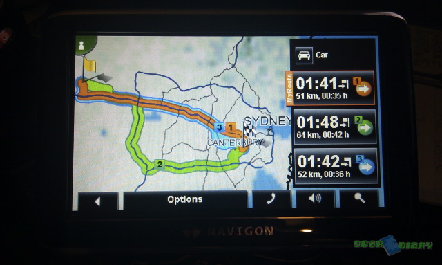 Navigon 6300 Sat Nav Review
