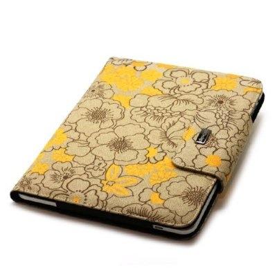 JAVOedge Poppy Side Sleeve Case for Apple iPad (Sunny Yellow).jpg