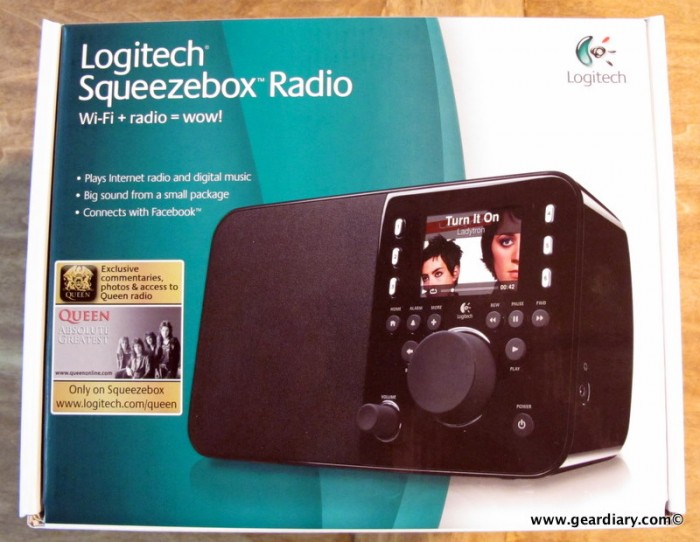 The Logitech Squeezebox Radio Review