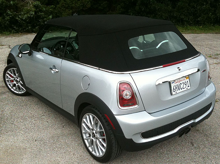 MINI Cooper John Cooper Works convertible – Oliver Twist finally gets his wish