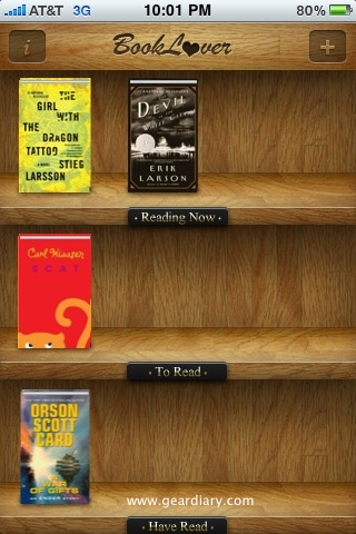 Review: Electric Pocket's BookLover for iPhone