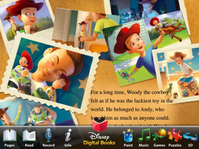 Read Along with Woody, Buzz and the Gang:  Toy Story 3 for iPad Review  Read Along with Woody, Buzz and the Gang:  Toy Story 3 for iPad Review  Read Along with Woody, Buzz and the Gang:  Toy Story 3 for iPad Review  Read Along with Woody, Buzz and the Gang:  Toy Story 3 for iPad Review