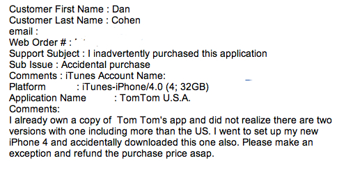 My iTunes Store Customer Service Interaction Was a Good One