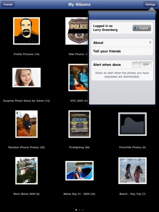 Fbook Photos for iPad Review