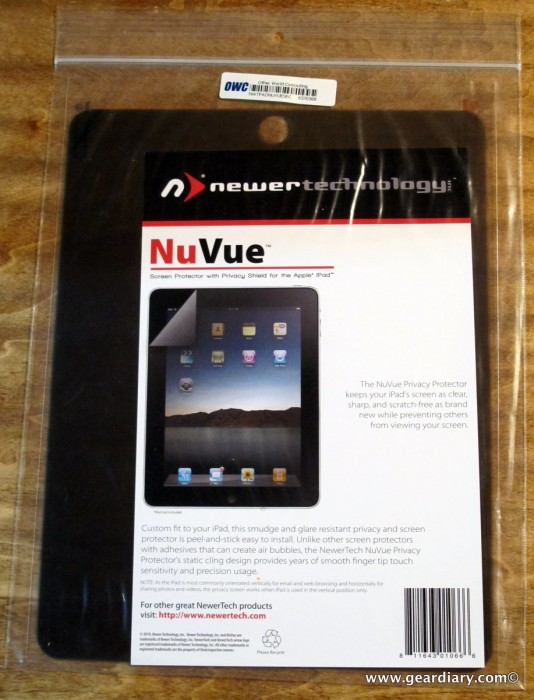 The NewerTechnology NuVue Clear and Privacy Shield iPad Screen Protectors Review  The NewerTechnology NuVue Clear and Privacy Shield iPad Screen Protectors Review  The NewerTechnology NuVue Clear and Privacy Shield iPad Screen Protectors Review