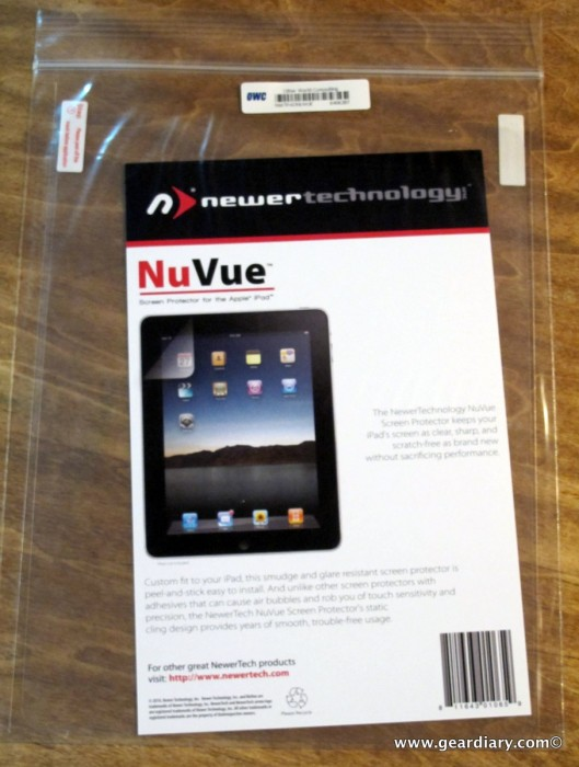 The NewerTechnology NuVue Clear and Privacy Shield iPad Screen Protectors Review