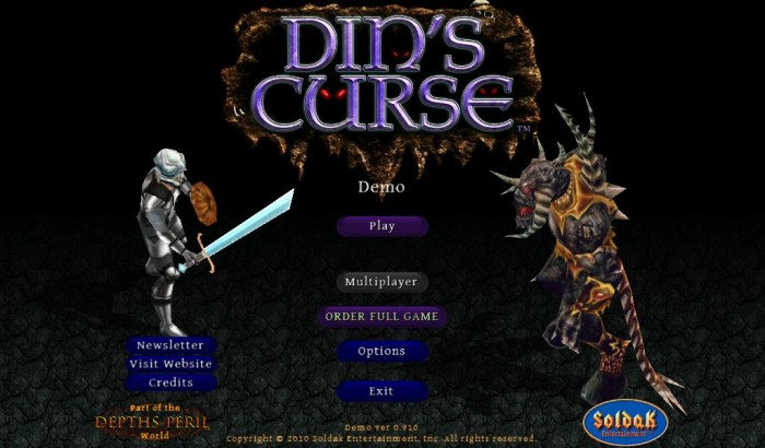 Din's Curse (PC/Mac RPG, 2010) Review