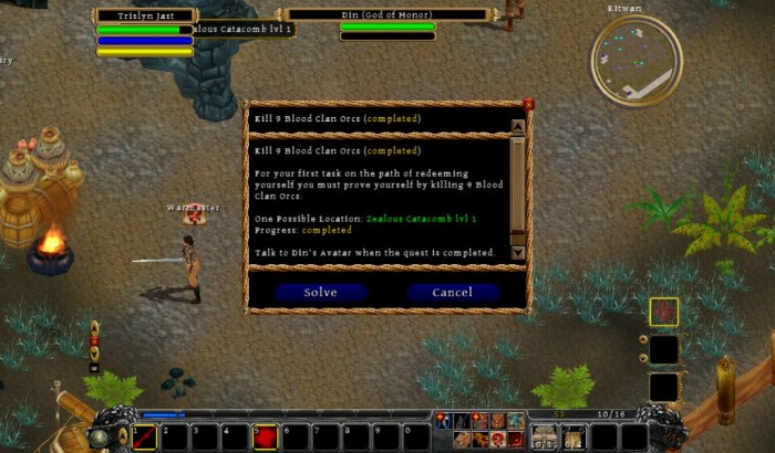 The Netbook Gamer: Din's Curse (PC/Mac RPG, 2010)  The Netbook Gamer: Din's Curse (PC/Mac RPG, 2010)  The Netbook Gamer: Din's Curse (PC/Mac RPG, 2010)