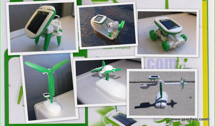 EFO's Solar Toys are Fun and Educational