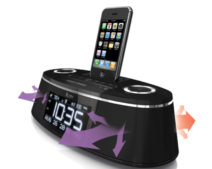 Review: iLuv iMM178 Vibe Plus- Dual Alarm Clock w/Bed Speaker Shaker for iPhone