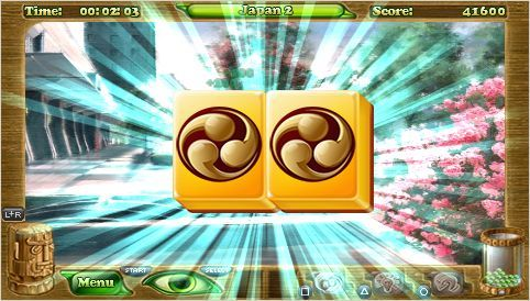 PSP Mini Game Review: Mahjongg Artifacts Chapter 2