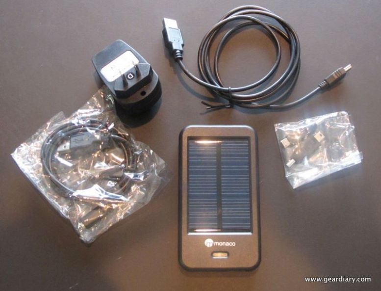 GearDiary Accessory Review:  Charge Your Mobile Devices With The Power Of The Sun