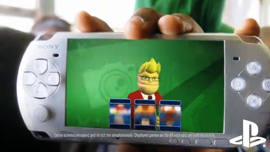 OMG Apple r d0m3d! Sony Shows PSP Playing Mediocre 2 Year Old Games For $10 Each!