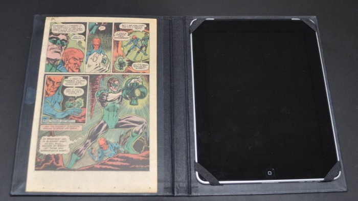 iPad Cases From Vintage Comic Books