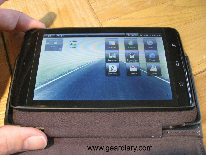Leather Wallet Case for Dell Streak Review