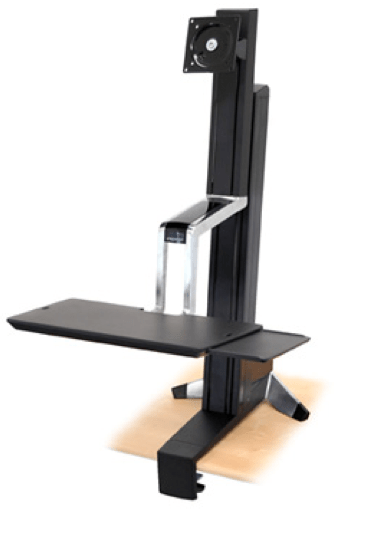 Work Gear Review- The Ergotron WorkFit Sit-Stand Desk  Work Gear Review- The Ergotron WorkFit Sit-Stand Desk  Work Gear Review- The Ergotron WorkFit Sit-Stand Desk