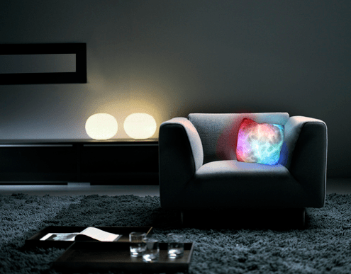 For the Swankest Party Pad, Just Add the Spyra Glowing LED Bar Table