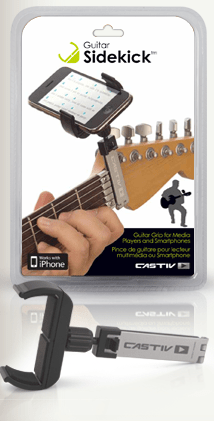 Guitar + iPhone = CASTIV's Guitar Sidekick