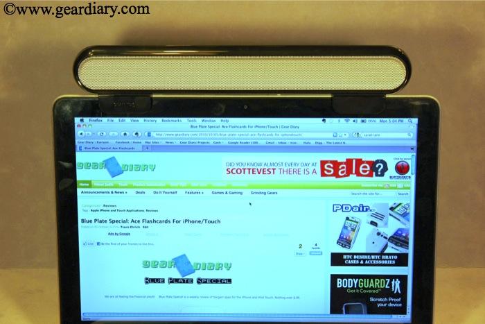Review: Philips Notebook SoundBar