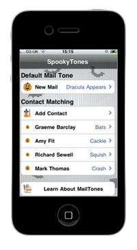 SpookyTones Helps Your iPhone Get Its Ghoul On