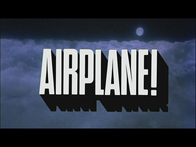 Random Cool Video: Airplane With No Jokes ...