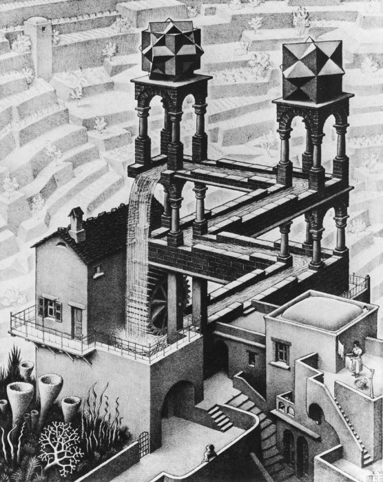 Random Cool Image: Assembly Instructions ala M.C. Escher  Random Cool Image: Assembly Instructions ala M.C. Escher  Random Cool Image: Assembly Instructions ala M.C. Escher  Random Cool Image: Assembly Instructions ala M.C. Escher