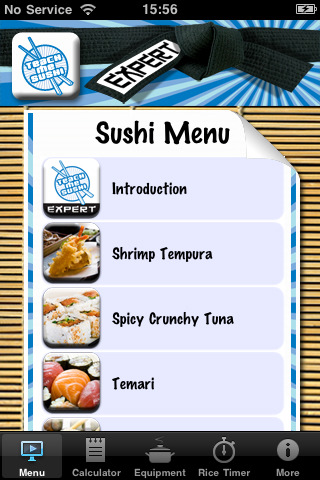 Teach Me Sushi for iPhone Sounds Tasty