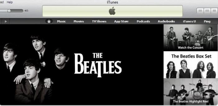 Music Diary Notes: So iTunes Gets The Beatles ... Do You Care?