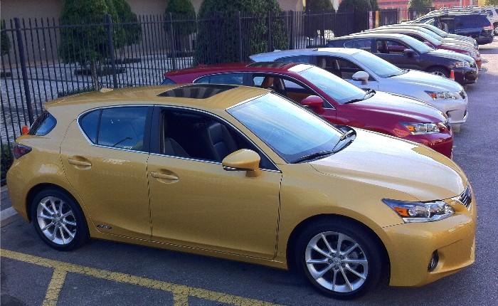 Lexus Hatchbacks Green Tech Cars