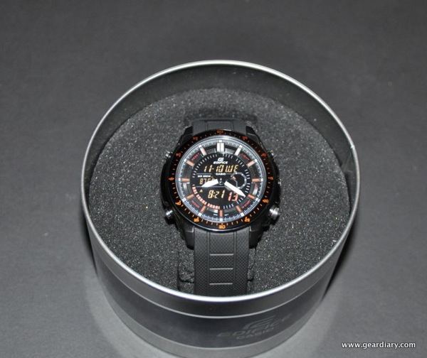 GearDiary Watch Review:  Edifice by Casio.  Yep, I Said Casio