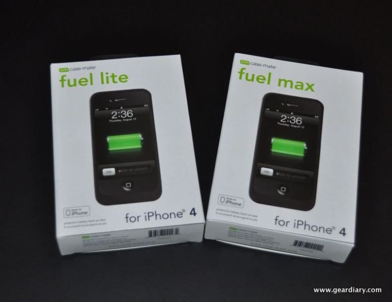 iPhone 4 Gear Review:  Case-Mate Fuel Lite & Max, Packing Serious Power for the Power User