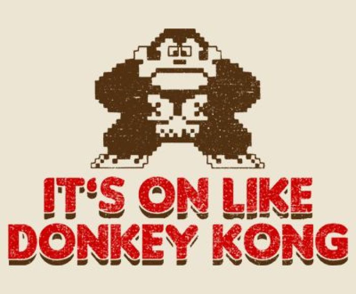 "Gear Games News: Nintendo (tries to) Trademark ""It's On Like Donkey Kong"""