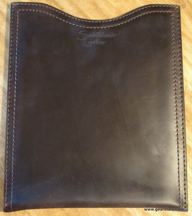 iPad Accessory Review: Saddleback Leather Company iPad Sleeve / Large Gadget Pouch  iPad Accessory Review: Saddleback Leather Company iPad Sleeve / Large Gadget Pouch