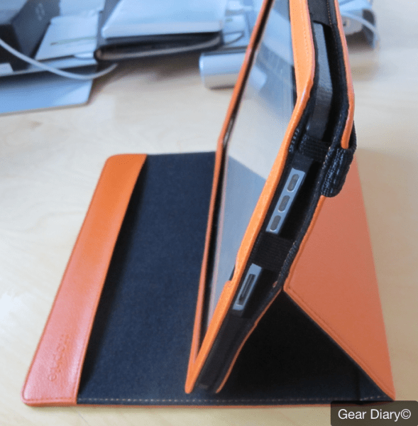 iPad Accessory Review-  Mophie workbook