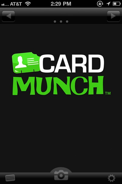 Apps In a Snap: CardMunch