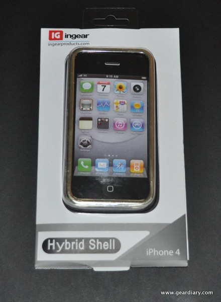 iPhone 4 Case Review:  ingear Hybrid Shell