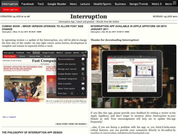 iPad App Review:  Interruption  iPad App Review:  Interruption  iPad App Review:  Interruption  iPad App Review:  Interruption  iPad App Review:  Interruption  iPad App Review:  Interruption