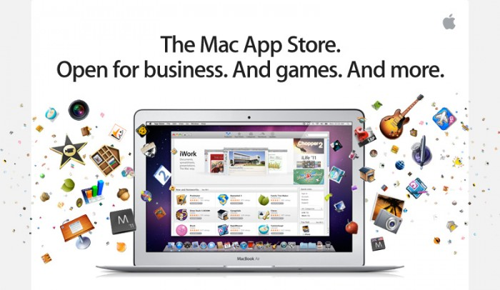 Mac App Store Now Live With >1,000 Apps, Requires OS X 10.6.6 Update