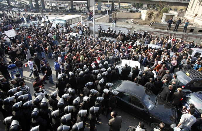 Power of Tech Shown by Egyptian Protests