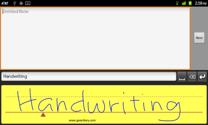 Review: WritePad for Android has the Write Stuff