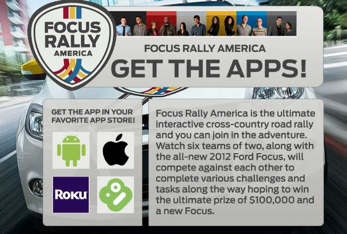 Mediafly Drives Apps for Ford Reality Show: Focus Rally America