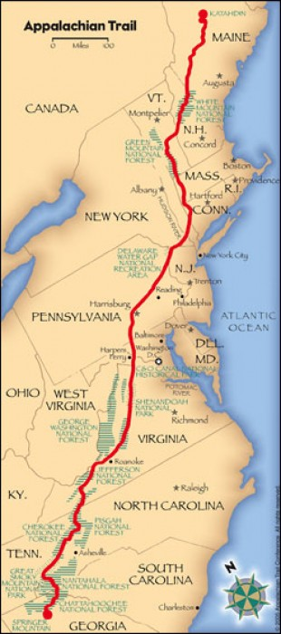 Hike the Appalachian Trail from Your Chair!