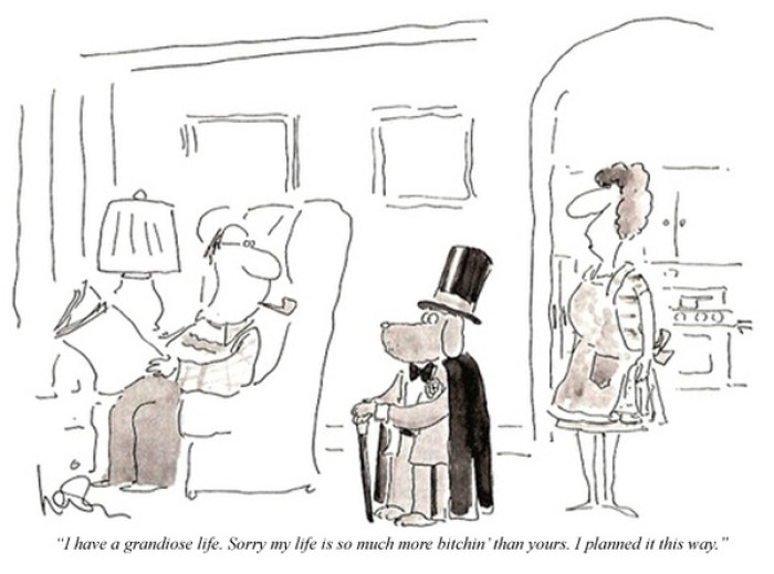 GD Quickie: Charlie Sheen Quotes As New Yorker Cartoons