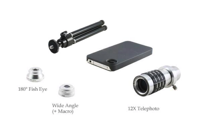 iPhone Lens Review: 12x Zoom, Macro, Fish Eye Lenses From USB Fever