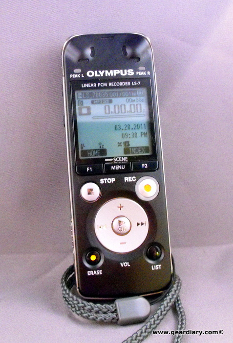 Olympus LS-7 Linear PCM Recorder Review  Olympus LS-7 Linear PCM Recorder Review
