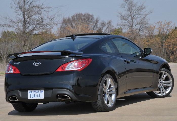 Hyundai Genesis Coupe 3.8 Track Fights for Respect