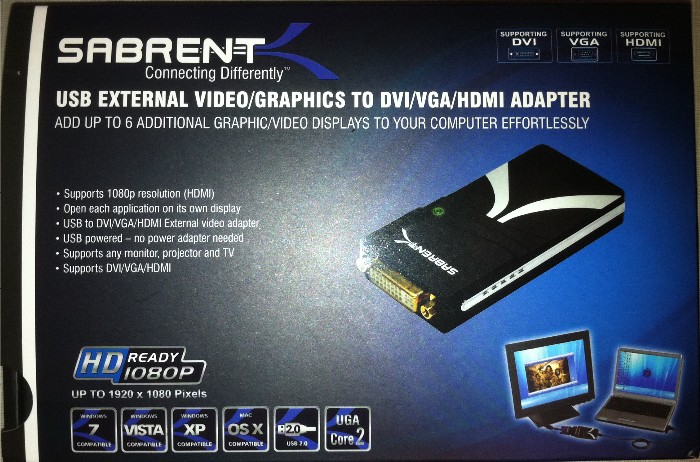 The Sabrent Display Adapter Saves the Day Review