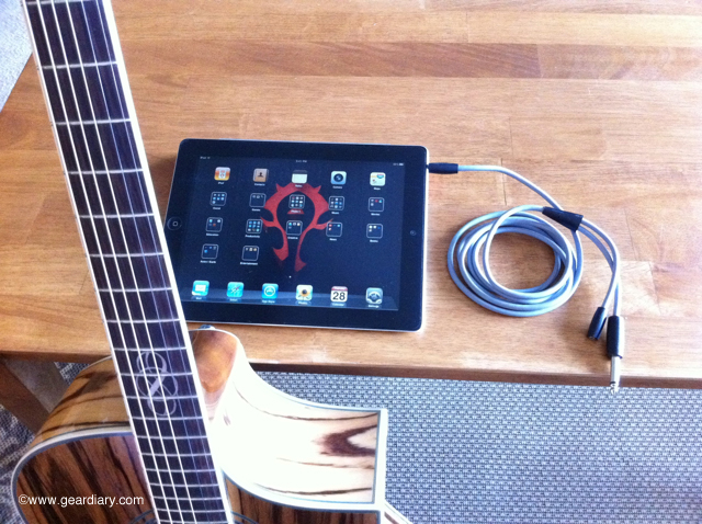 Riffs and Pixels: Griffin's GuitarConnect Cable for iOS devices