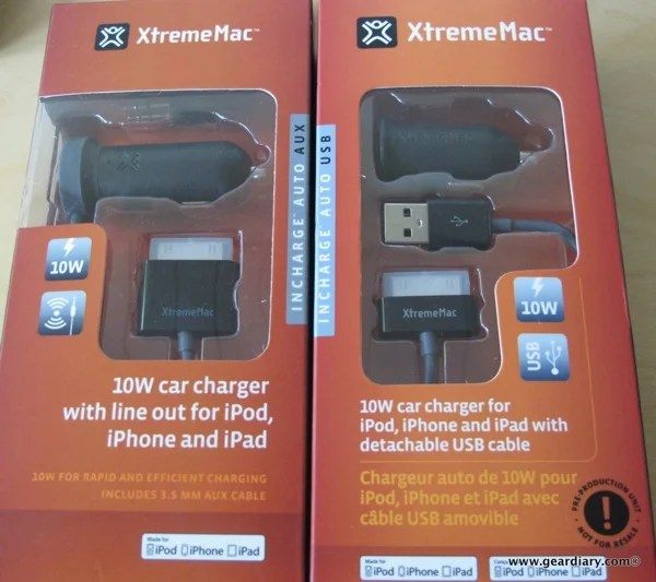 Car Audio Accessory Review: XtremeMac InCharge Auto iPhone and iPad Chargers